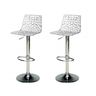 Tabouret de bar transparent achat vente tabouret de bar transparent pas c - Chaise polycarbonate pas cher ...