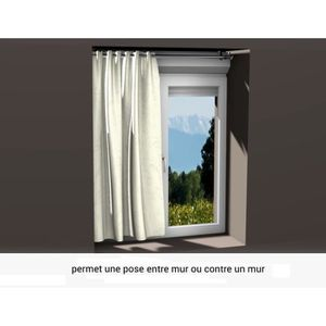 Tringle a rideau pour fenetre pvc achat vente tringle for Tringle pour fenetre pvc