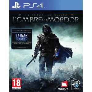 JEU PS4 La Terre du Milieu L'Ombre du Mordor Jeu PS4