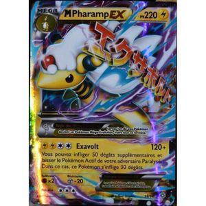 CARTE A COLLECTIONNER carte Pokémon 28-98 Mega Pharamp Ex 220 PV - ULTRA