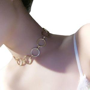 collier ras de cou or cercle
