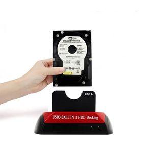 HOUSSE DISQUE DUR EXT. HDD Station d'accueil USB 3.0 double disque dur in