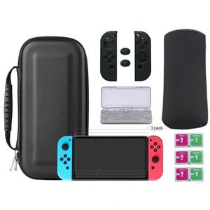 HOUSSE DE TRANSPORT 7 in 1 Coque de Transport Pour Nintendo Switch ave
