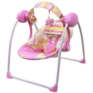 BALANCELLE Balancelle bébé électrique-transat : SPARKY rose