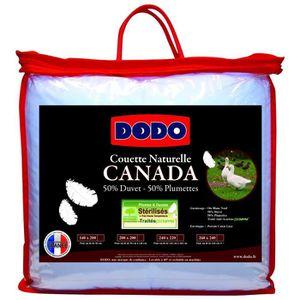 COUETTE Dodo - Couette Canada 50% Duvet 240x260 Très chaud
