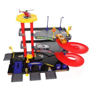 UNIVERS MINIATURE Coffret Garage plusieurs niveaux avec accessoires,