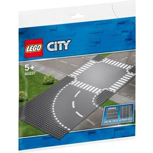 ASSEMBLAGE CONSTRUCTION LEGO® City 60237 Virage et carrefour