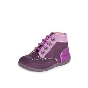Achat 44682510142 Violet Kickers Boots Bonbon Vente 34j5RLAq