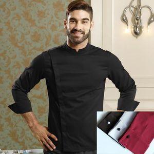 VESTE PROFESSIONNELLE Zencart Restaurant Chef Vestes Manches Longues Fra