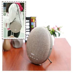 ENCEINTE NOMADE Enceinte Bluetooth tissu avec micro intégré mains