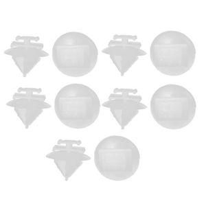 10X Volvo Bordure Panneau Plastique PUSH FIT Clips 5-6 mm Trou Taille