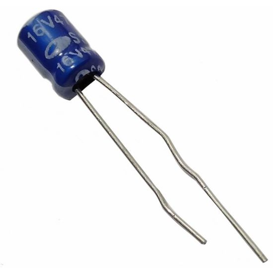 10x Condensateur /électrolytique chimique 470/µF /± 20/% 63V THT 85/°C 2000h /Ø12.5x20mm radial Aerzetix