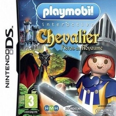 playmobil chevalier jeu console nintendo ds achat vente jeu ds dsi playmobil chevalier. Black Bedroom Furniture Sets. Home Design Ideas