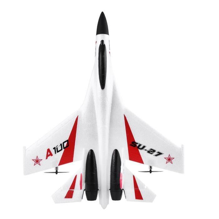 BOYOU RC planeur jouet, gyroscope à 6 essieux 3 canaux EPP avion à voilure fixe mini planeur avec télécommande cadeau pour enfants