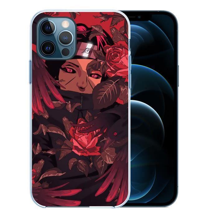 Coque pour iPhone 12 PRO MAX - Naruto Itachi Corbeaux. Accessoire telephone