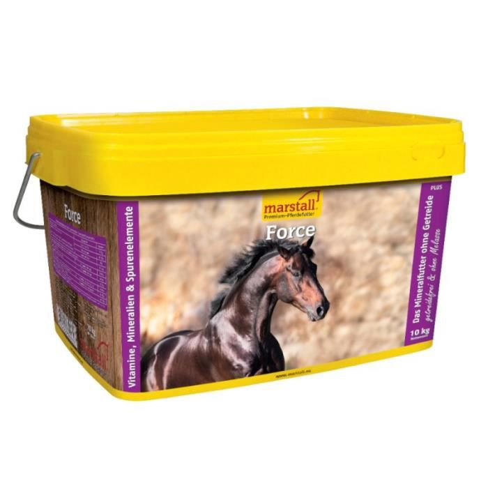 Marstall Force Complément alimentaire minéral pour cheval [seau de 10 kg]
