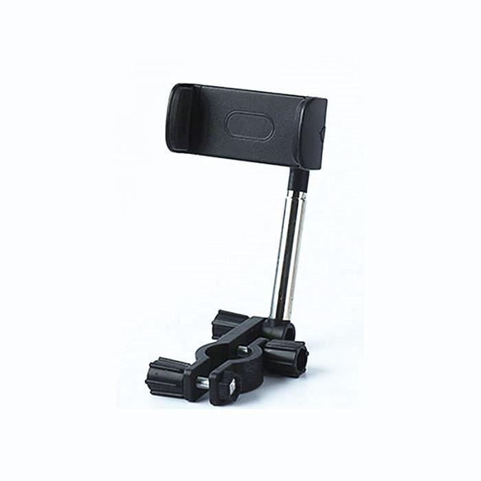 Support de téléphone portable de voiture, type de boucle de rétroviseur, Support de navigateur, Support de voitur - Black - JEFF1744