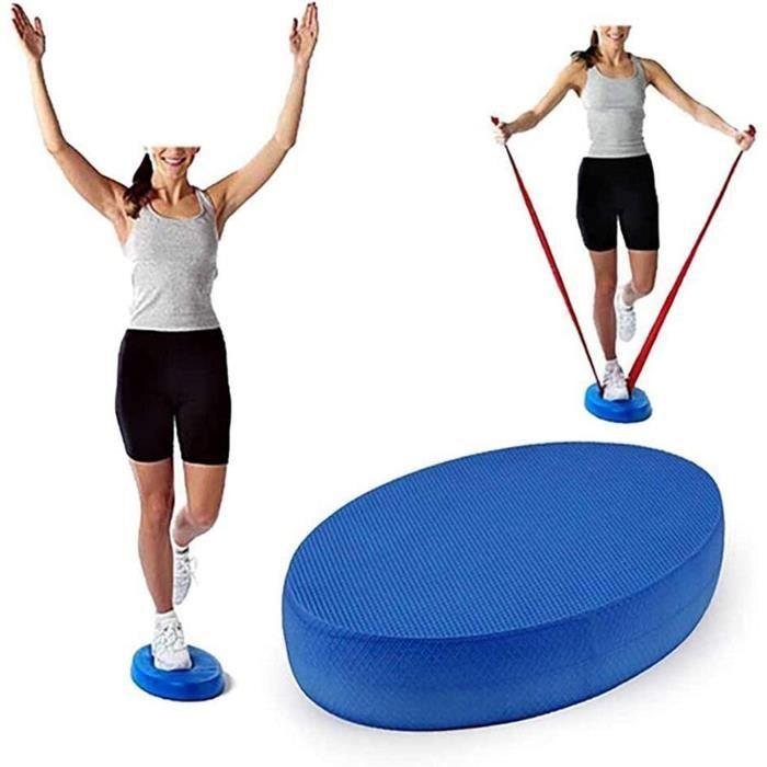 pis d'équilibre-Coussin d'équilibre-Balance Pad - Mobilité, équilibre, rééducation + Fitness, Yoga Pilates - Idéal débutants Pe 1477