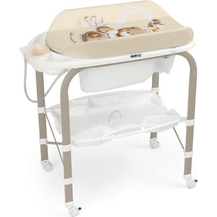 CAM - Table à langer CAMBIO - 240 Teddy avec couronne