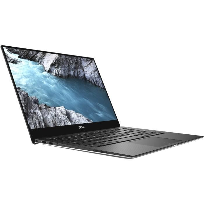 DELL PC Ultrabook XPS 13-9370 UHD Touch - 16Go (2133) - Core i7-8550U - 512Go SSD - PCIe - Graphique intégré - Windows 10 Advanced