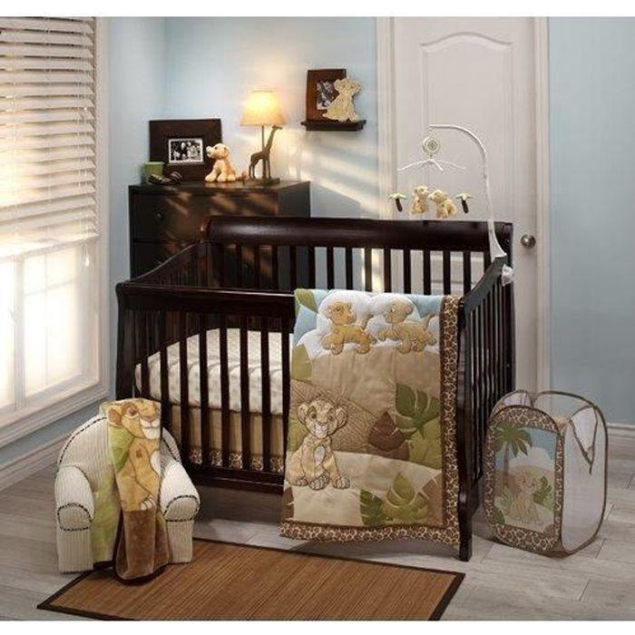 Garniture Berceau DISNEY Lion King Urban Jungle Piece Literie de bébé FNUWG