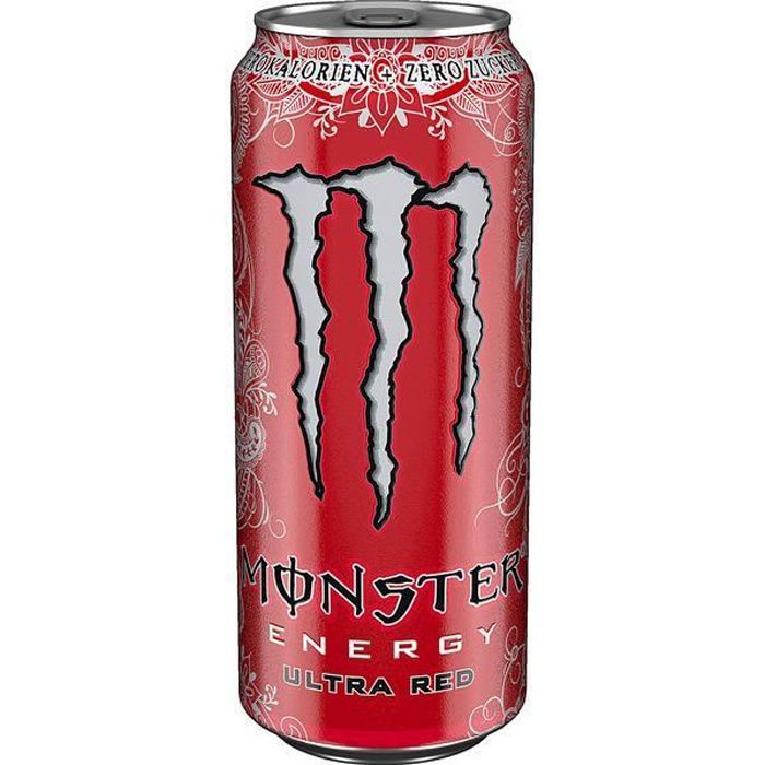 Monster Ultra Red Zero Energy Drink 12 x 0,5l