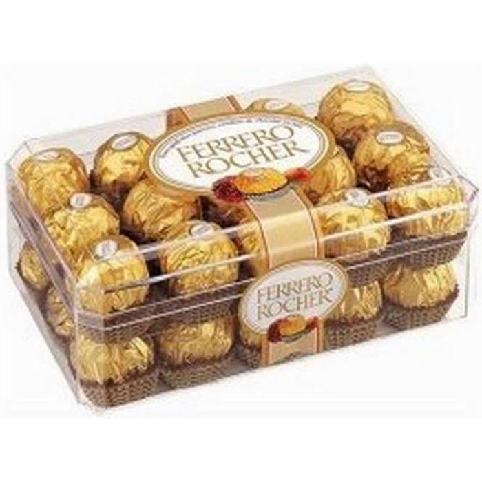 30 Ferrero Rocher Collection chocolat truffes