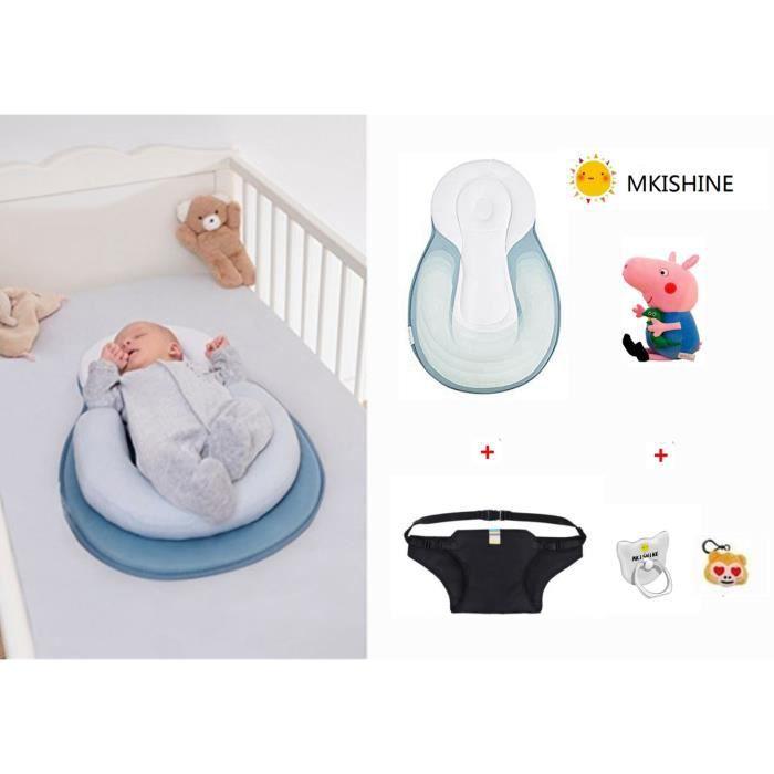 Réducteur de lit doux pour bébé,réducteur Lit bébé, Baby Nest cocoon pour nouveau-né Support Ergonomique Réducteur nouveau-né