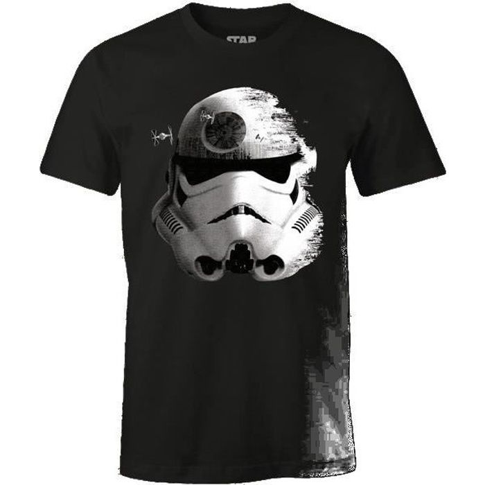 T-Shirt Adulte Star Wars : Stormtrooper - Noir