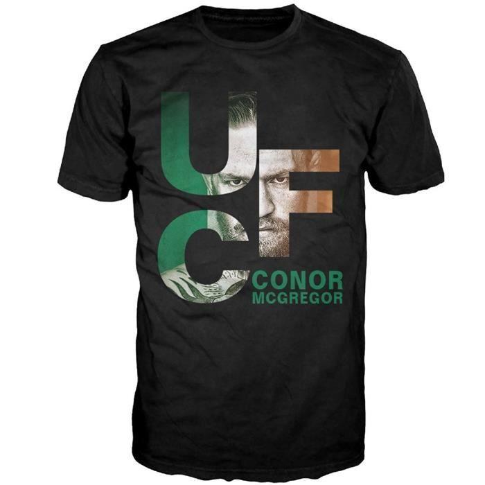 Homme Personnalisé Tee Shirt Homme Pas Cher Homme Conor Mcgregor Ufc Tee Shirt Homme Casual