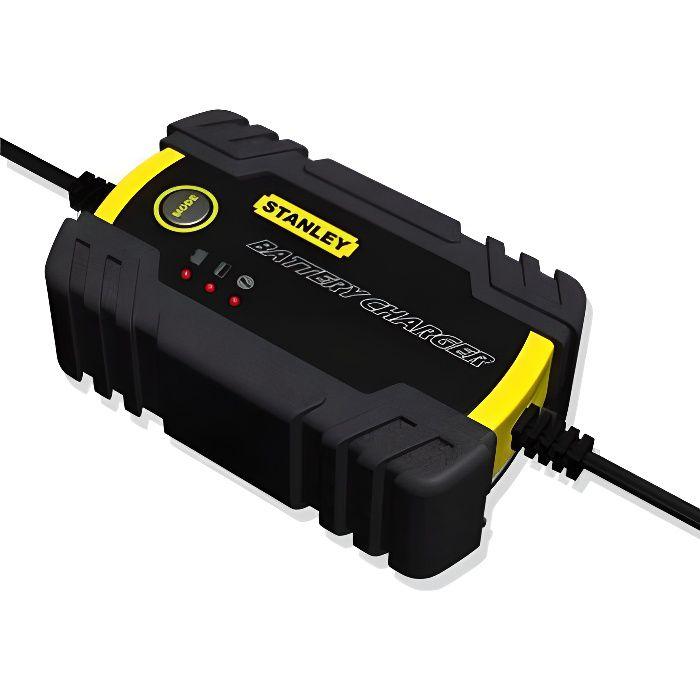 STANLEY Chargeur de batteries 6V ou 12V