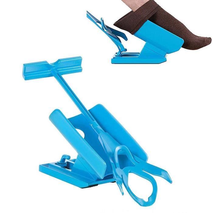 Enfile Bas et chaussettes Aide à mettre Chaussettes on off Sock Slider Kit Chaussette Slider Pas de flexion Stretching Blessures