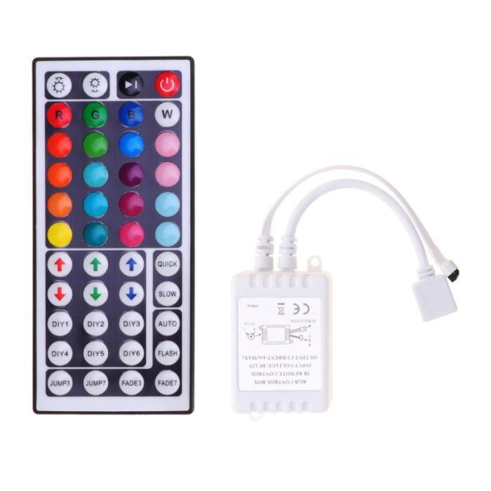 Contrôleur LED 1Pc infrarouge professionnel à 44 boutons pour une utilisation domestique de BOITIER PC - PANNEAUX LATERAUX