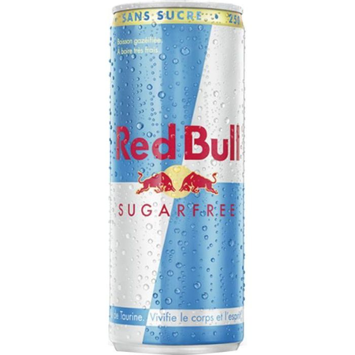 Red Bull Sugarfree 25cl (pack de 24)