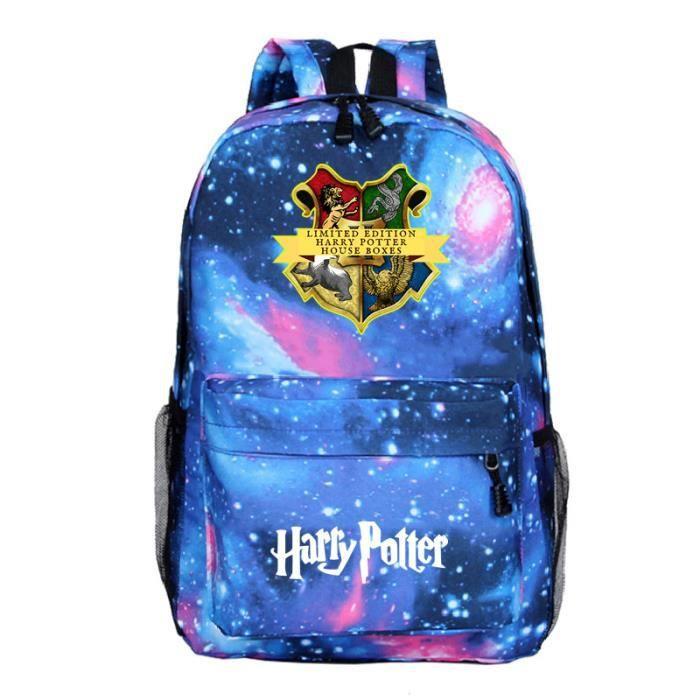 MOBIGARLAN Sac à Dos - Sac d'École cartable étudiant Harry Potter imprimé pour enfant adolescent modèle 33