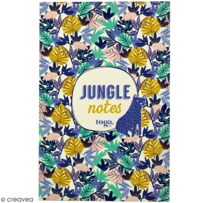 Bloc notes Jungle vibes 100 pages