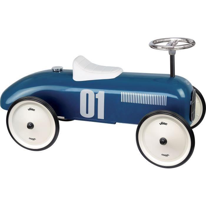 Vilac - Porteur voiture vintage bleu pétrole - VILAC