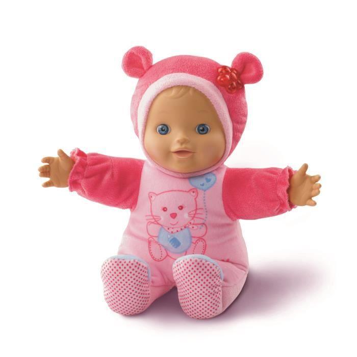 VTech Little Love Kiekeboe Baby, Rose, Fille, 1 année(s), 6 année(s), Plastique, Peluche, CE