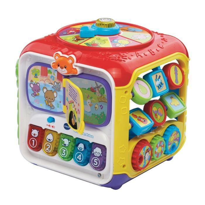 jeu apprentissage bébé VTech Activités Cube