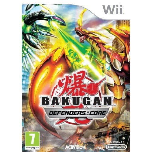 JEUX WII Bakugan Battle Brawlers: Defender of the Core W…