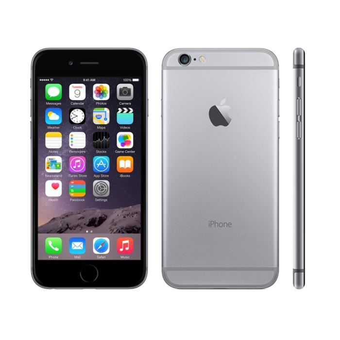 SMARTPHONE RECOND. IPHONE Reconditionné GRADE A++ Phone 6 - 64Go GRAY