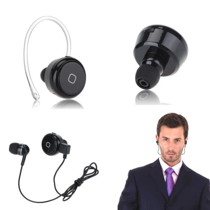 mini bluetooth v4 0 casque casque couteur sans fil avec. Black Bedroom Furniture Sets. Home Design Ideas