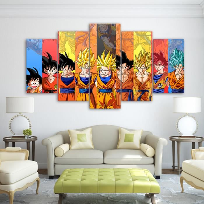 Cadre dragon ball z achat vente cadre dragon ball z for Decoration murale one piece