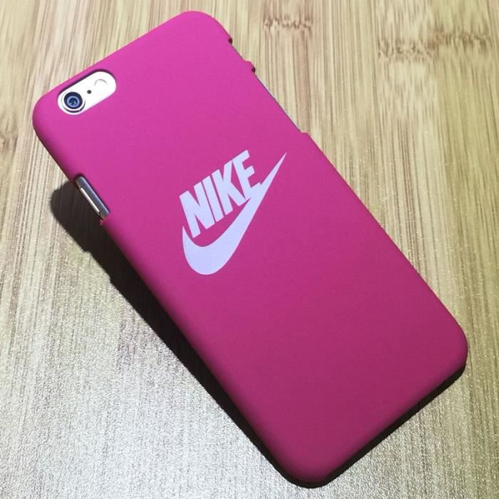 coque iphone 6 nike rose
