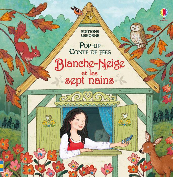 Livre Pop Up Conte De Fees Blanche Neige Et Les Sept Nains