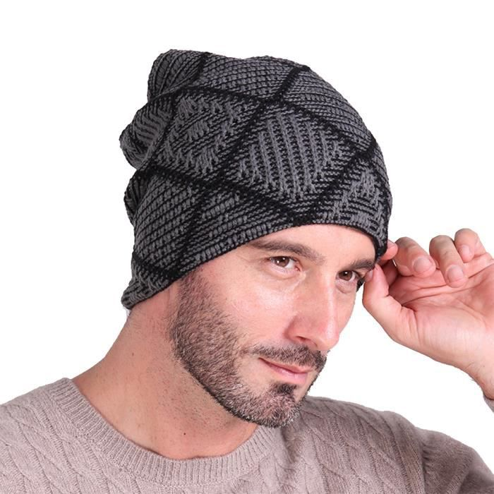 eozy bonnet chapeau tricot femme homme sport ski chaud hiver achat vente bonnet cagoule. Black Bedroom Furniture Sets. Home Design Ideas
