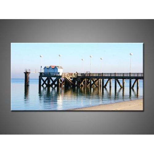 Tableau moderne bassin d 39 arcachon 3p achat vente tableau toile cdiscount for Bassin moderne