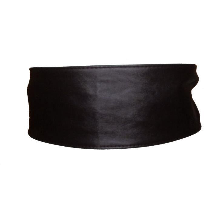 Ceinture BANDEAU serre-taille  BENETTON  Belt taille au choix cuir PU