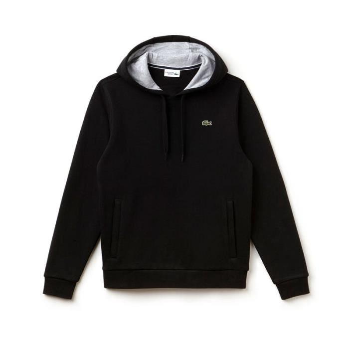 sweatshirt lacoste noir