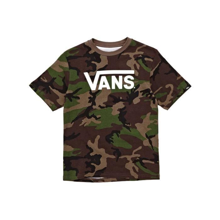 t-shirt enfant vans